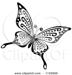 butterfly clipart royalty illustration vector rf illustrations tradition sm graphics