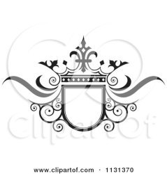 crown wedding frame ornate clipart royalty vector illustration swirl perera lal 3d clipartof background