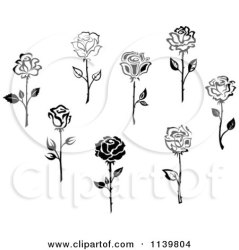 rose flowers clipart vector illustration royalty print seamartini graphics tradition sm printable poster prints collc0169 protected clipartof