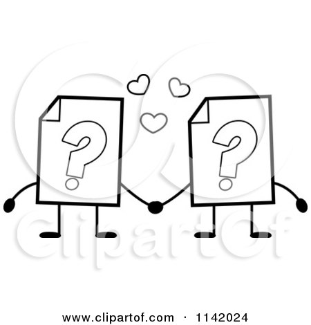 Royalty Free Question Mark Illustrations by Cory Thoman Page 1