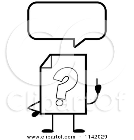 Royalty Free Stock Illustrations of Questions by Cory