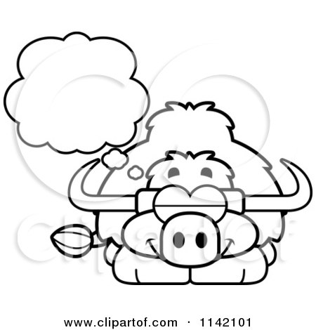 Yak Coloring Pages