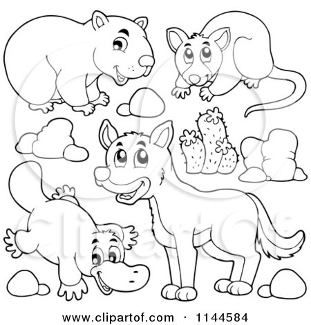Royalty Free Stock Illustrations of Printable Coloring
