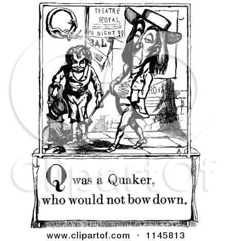 Royalty-Free (RF) Quaker Clipart, Illustrations, Vector