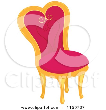 baby chairs for eating george jones rocking chair cartoon of a chic green and polka dot lamp - royalty free vector clipart by bnp design ...