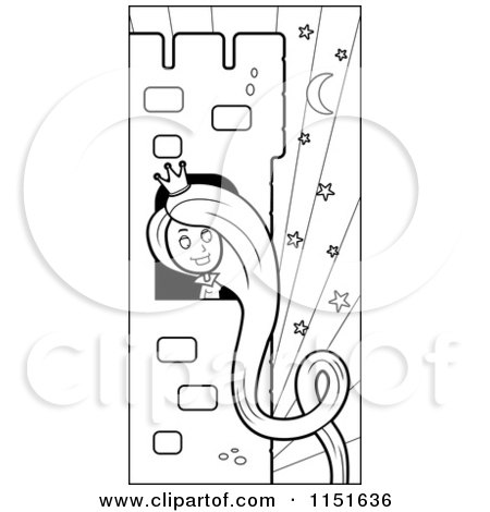 Royalty-Free (RF) Rapunzel Clipart, Illustrations, Vector