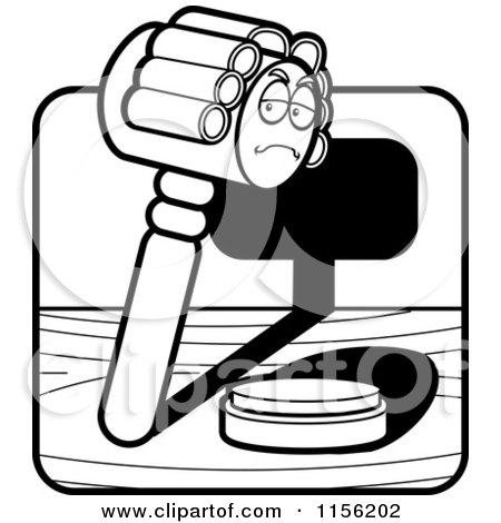 Gavel Coloring Pages