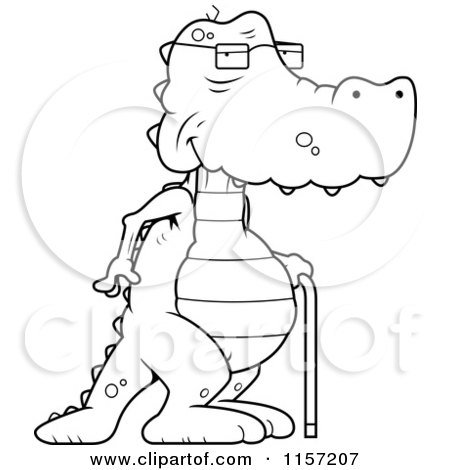 Walking Cane Coloring Pages