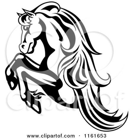 Royalty-Free (RF) Clipart of Horse Logos, Illustrations