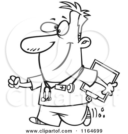 Male Nurse Coloring Pages Coloring Pages
