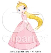 royalty-free rf clipart of dresses