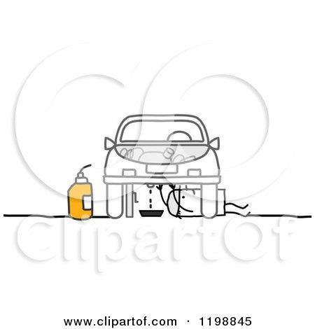 RoyaltyFree RF Clip Art Illustration of a Cartoon Woman