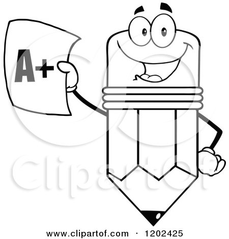 Royalty-Free (RF) Clipart of Good Grades, Illustrations