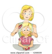 royalty-free rf single mom clipart