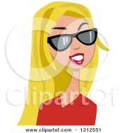 royalty-free rf blond hair clipart