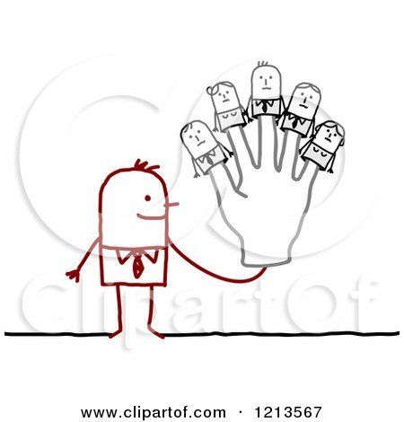 Royalty-Free (RF) Puppet Clipart, Illustrations, Vector