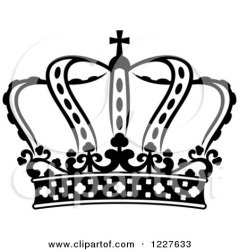 crown clipart vector royal royalty king princess graphics illustration seamartini shield rf illustrations tradition sm clipartof
