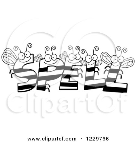 Royalty-Free (RF) Spelling Bee Clipart, Illustrations
