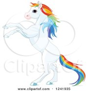 royalty-free rf clipart of horses