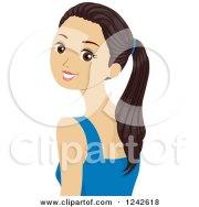 royalty-free rf hairdo clipart