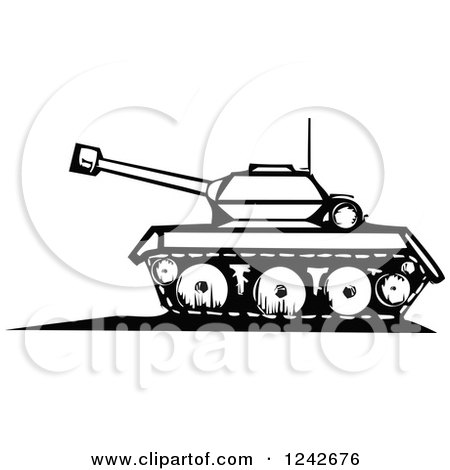 Royalty-Free (RF) Clipart of Tanks, Illustrations, Vector