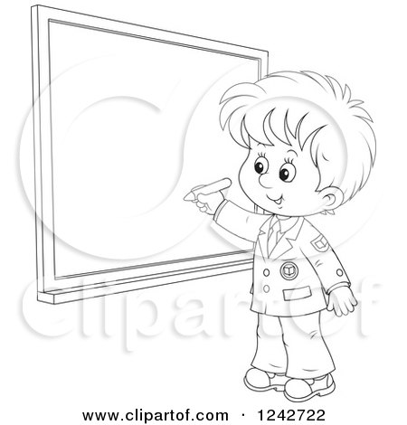 Royalty Free Chalk Board Illustrations by Alex Bannykh Page 1