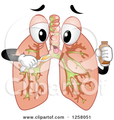 human heart and lungs diagram atv winch relay wiring clipart of a cartoon character coughing - royalty free vector illustration by bnp design ...