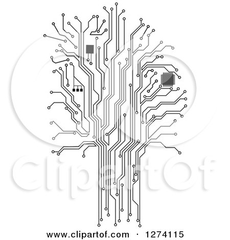 Royalty-Free (RF) Motherboard Clipart, Illustrations