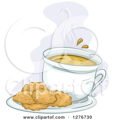 clipart of plate cookies