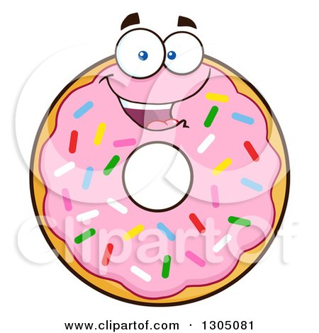 royalty-free rf donut clipart