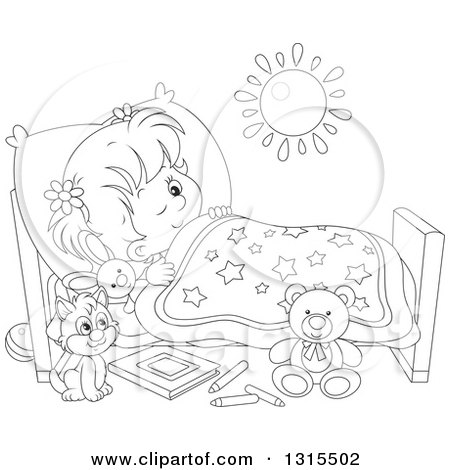 Royalty Free Sleep Illustrations by Alex Bannykh Page 1