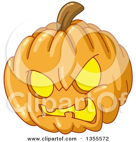 clipart of cartoon evil angry