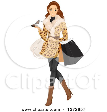 leopard high heel shoe chair dental for sale clipart of black dresses on mannequins - royalty free vector illustration by bnp design studio ...
