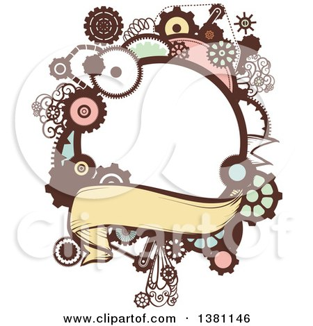 clipart of a steampunk