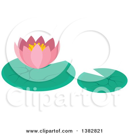 royalty-free rf clipart of lily