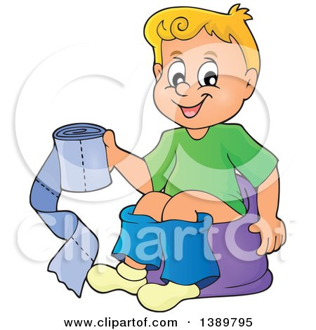 frog potty chair ergonomic wood clipart of a cartoon black and white lineart boy sitting on training holding ...