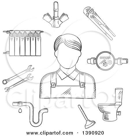 Royalty-Free (RF) Clip Art Illustration of a Cartoon Woman