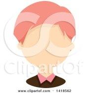 clipart of faceless white boy