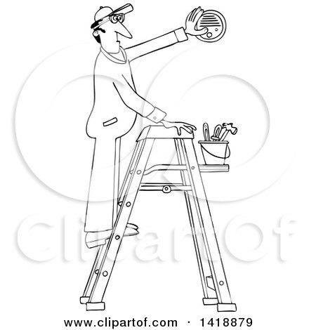Smoke Detector Coloring Page Sketch Coloring Page