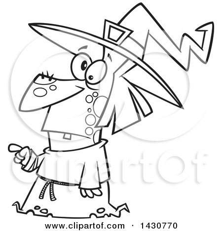 Royalty Free Witch Illustrations by toonaday Page 1
