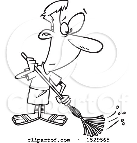 Royalty Free Cleaning Illustrations by toonaday Page 1