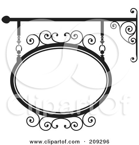 Royalty-Free (RF) Clipart of Blank Signs, Illustrations