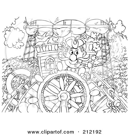 Research Ship Coloring Page Coloring Pages