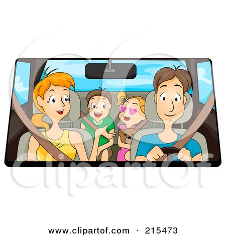 Image result for family time car drive clipart