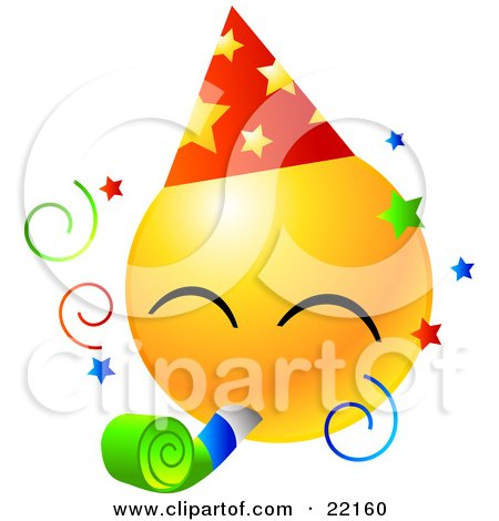https://i0.wp.com/images.clipartof.com/small/22160-Clipart-Illustration-Of-A-Yellow-Emoticon-Face-Wearing-A-Party-Hat-And-Blowing-On-A-Noise-Maker-At-A-Party.jpg