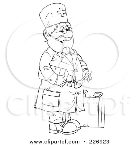 Royalty Free Stock Illustrations of Doctors by Alex