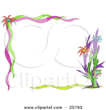Green White Pink Girl Scout Wallpaper Royalty Free Stock Illustrations Of Stationery Borders By