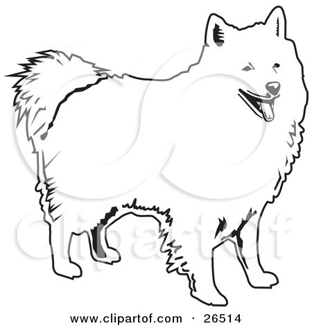 Clipart Illustration of a Friendly American Eskimo