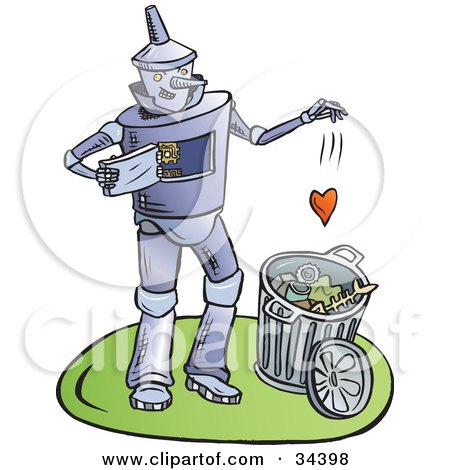 clipart illustration of heartless