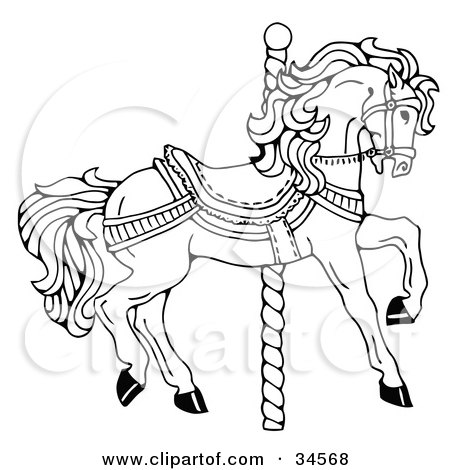 CAROUSEL HORSE PATTERNS